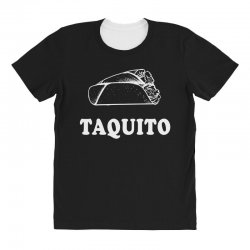 Taco and Taquito Family Matching All Over Women's T-shirt | Artistshot