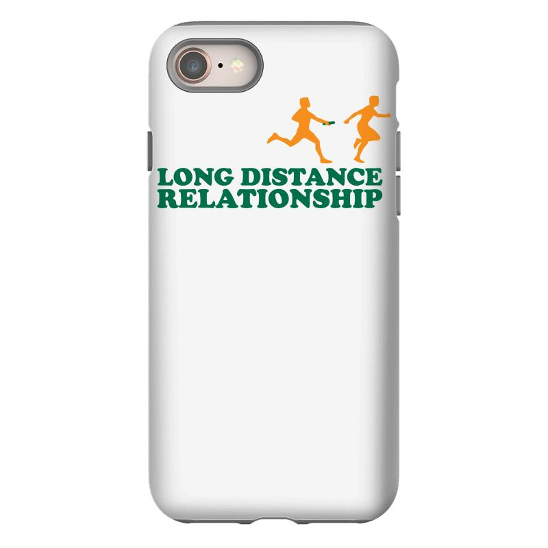 Long Distance Relationship Iphone 8 Case  By Artistshot