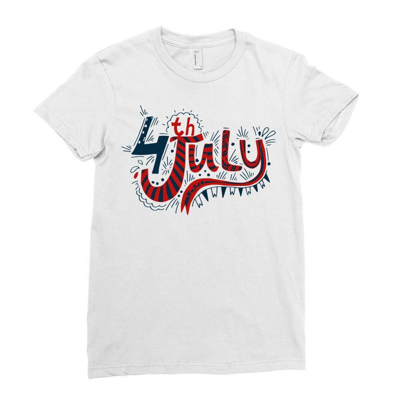 4th July Us Independence Ladies Fitted T-shirt | Artistshot