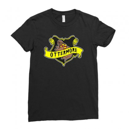 Ottermore Ladies Fitted T-shirt Designed By Mash Art