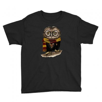 Owly Potter Youth Tee Designed By Mash Art