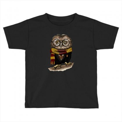 Owly Potter Toddler T-shirt Designed By Mash Art