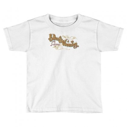 Potter & Weasley Toddler T-shirt Designed By Mash Art