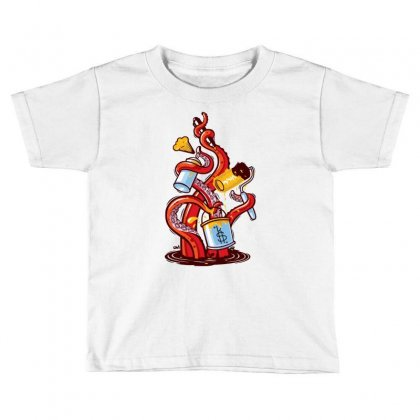 Angle Gravity Toddler T-shirt Designed By Ronz Art