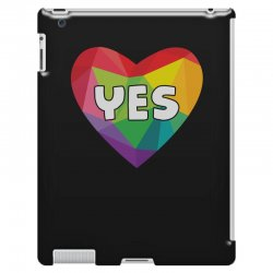Yes Lgbt Heart iPad 3 and 4 Case | Artistshot