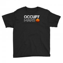 elon musk occupy mars Youth Tee | Artistshot
