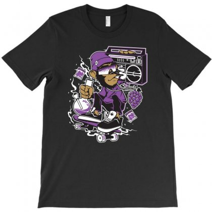 Music Characters T-shirt Designed By Ronz Art