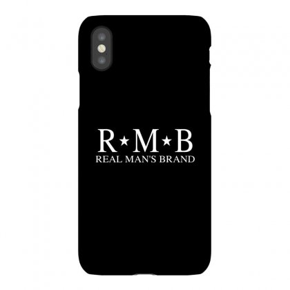 Rmb Real Man's Brand [white Logo] Iphonex Case Designed By Realmansbrand