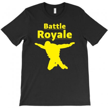 Battle Royale Skydiving Fortnite T-shirt Designed By Aheupote