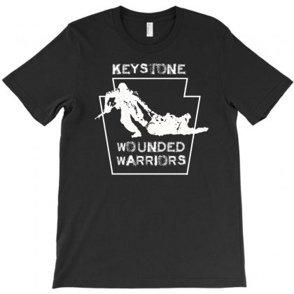 Keystone Wounded Wariors T-shirt Designed By Aheupote
