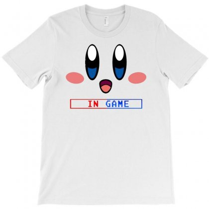 Kirby Gamer Geek Snes T-shirt Designed By Firstore