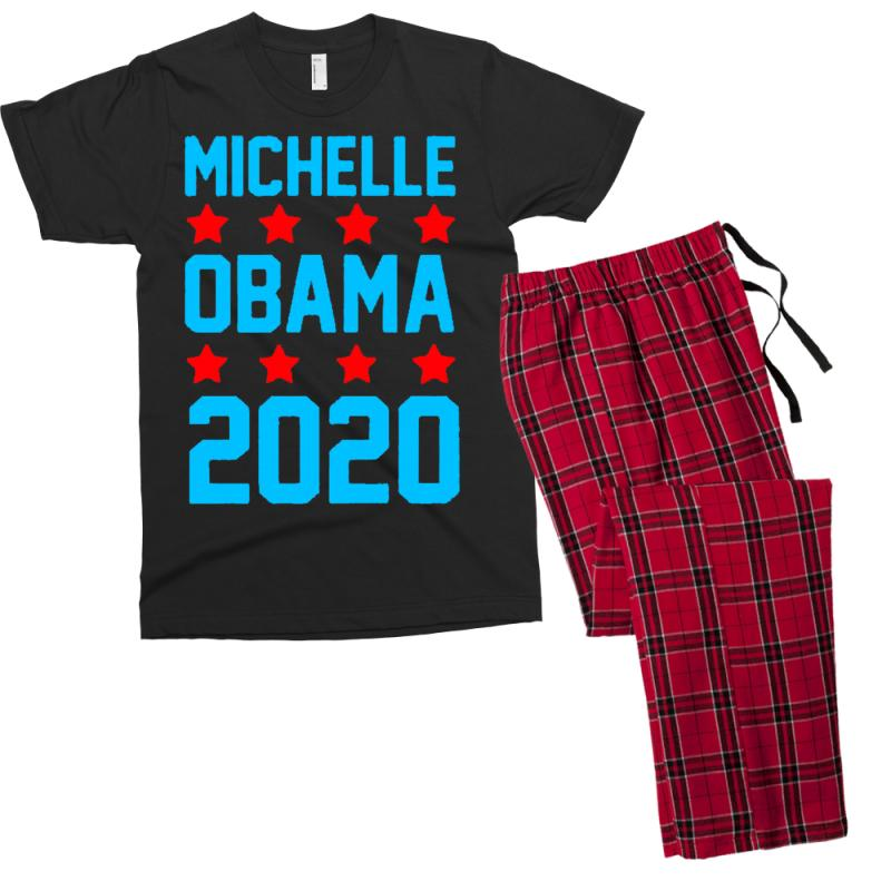7721732a Custom Michelle Obama 2020 Men's T-shirt Pajama Set By Firstore ...