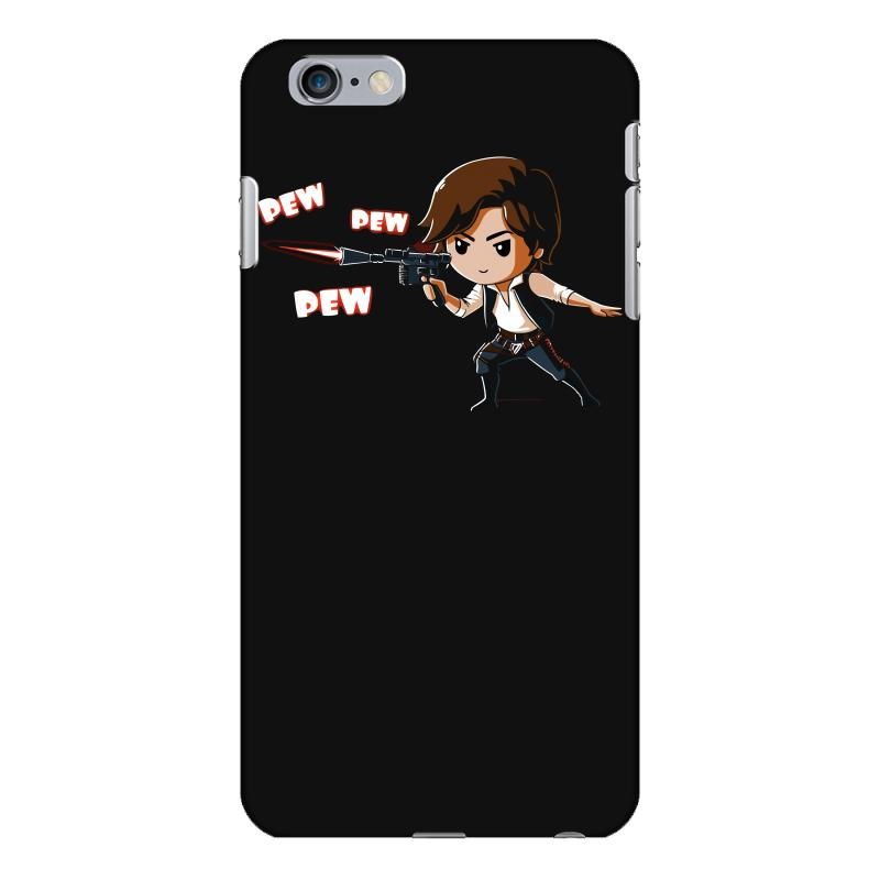 promo code eb246 e030f Pew Pew Han Solo Iphone 6 Plus/6s Plus Case. By Artistshot