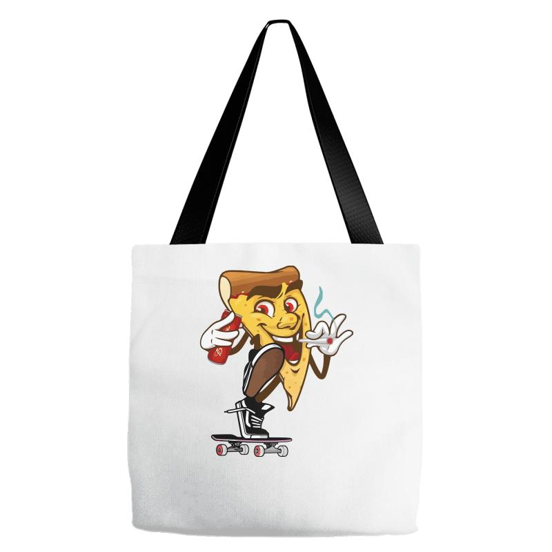 563393b346a Custom Pizza Smoking (2) Tote Bags By Ronz Art - Artistshot