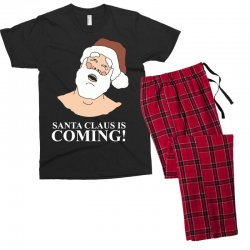 santa is coming Men's T-shirt Pajama Set | Artistshot