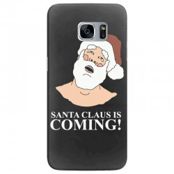 santa is coming Samsung Galaxy S7 Edge Case | Artistshot