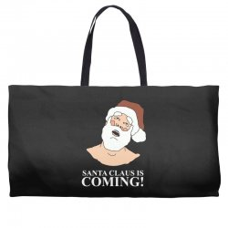 santa is coming Weekender Totes | Artistshot