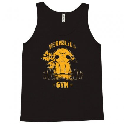 Vermilion Gym Tank Top Designed By Firstore
