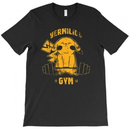Vermilion Gym T-shirt Designed By Firstore
