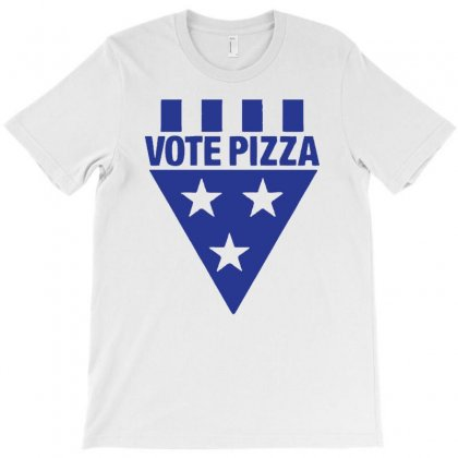 Vote Pizza Best Trending T-shirt Designed By Firstore