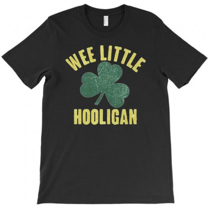 Wee Little Hooligan T-shirt Designed By Firstore