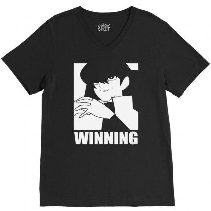 Winning Trending V-neck Tee Designed By Firstore