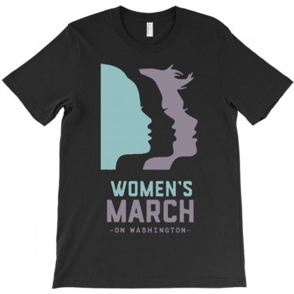 Women's March 2017 On Washington T-shirt Designed By Firstore