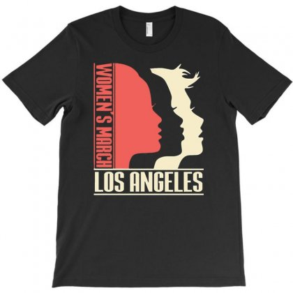 Womens March On Los Angeles T-shirt Designed By Firstore
