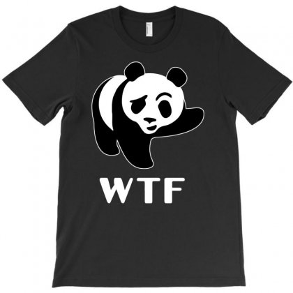 Wtf Panda T-shirt Designed By Firstore