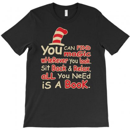 You Can Find Magic In Book T-shirt Designed By Firstore