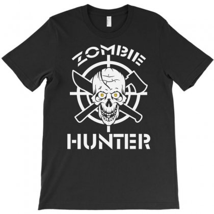 Zombie Hunter Best Trending T-shirt Designed By Firstore