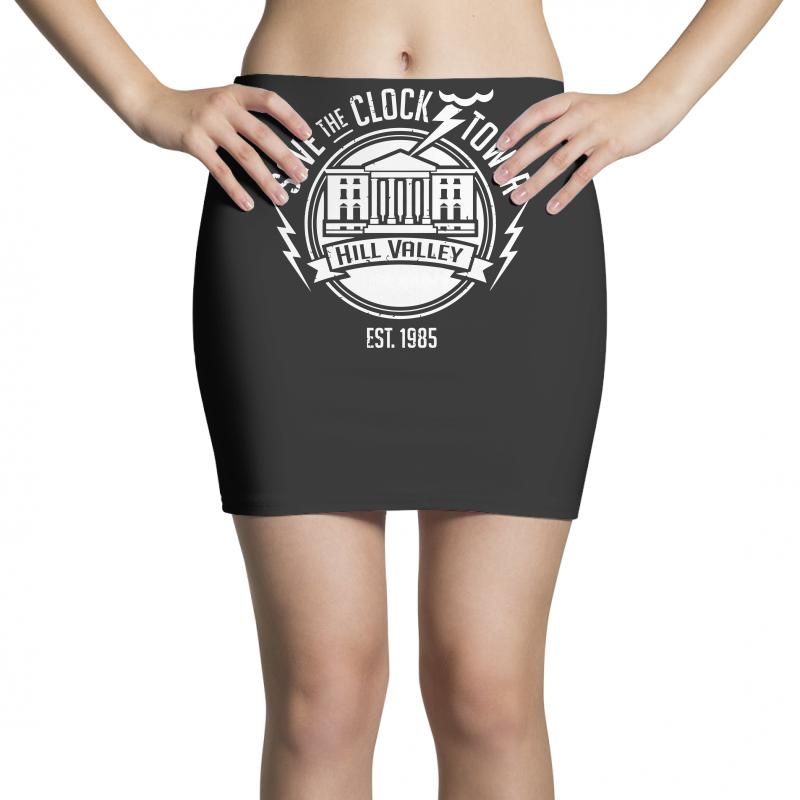 f63773981a Custom Save The Clock Tower Mini Skirts By Ronz Art - Artistshot
