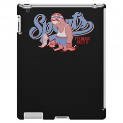 sports sloth iPad 3 and 4 Case | Artistshot