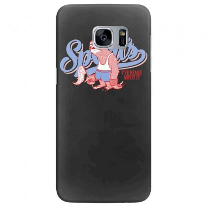 Sports Sloth Samsung Galaxy S7 Edge Case Designed By Ronz Art