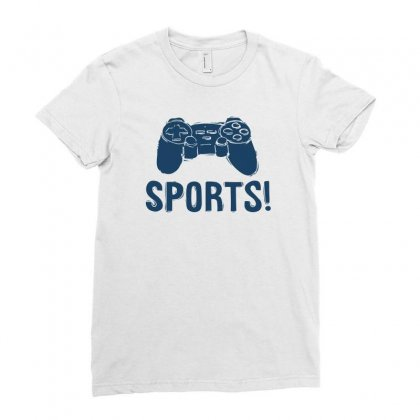 Sports Ladies Fitted T-shirt Designed By Ronz Art