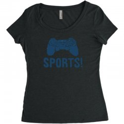 sports Women's Triblend Scoop T-shirt | Artistshot
