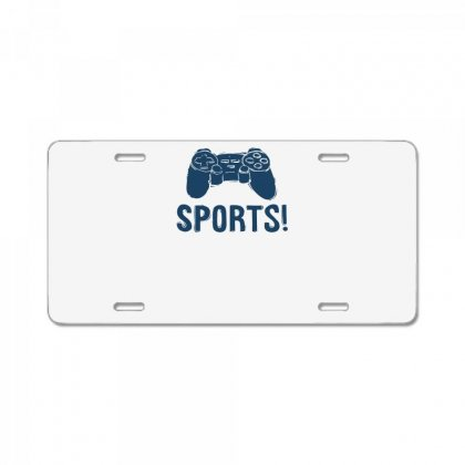 Sports License Plate Designed By Ronz Art