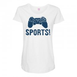sports Maternity Scoop Neck T-shirt | Artistshot