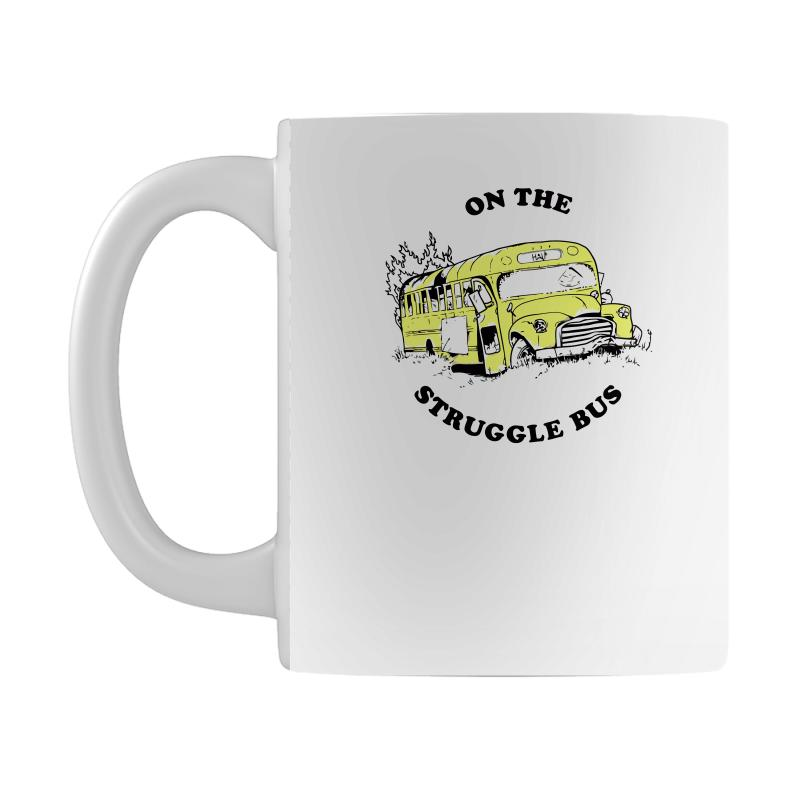 88d9a2bb3bd Custom Struggle Bus Mug By Ronz Art - Artistshot