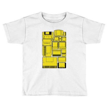 The Cartridge Family Toddler T-shirt Designed By Ronz Art