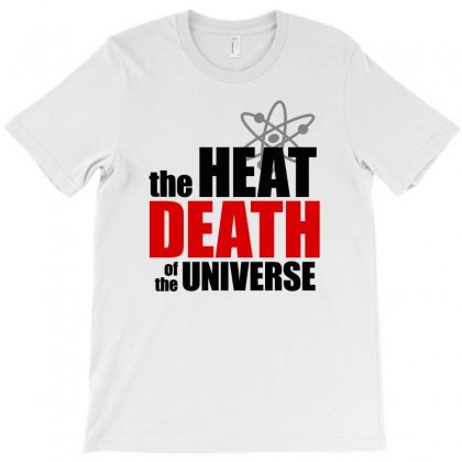 The Heat Death Of The Universe T-shirt Designed By Ronz Art