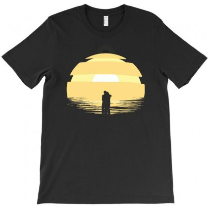 Two Rogues At The End Of The World T-shirt Designed By Ronz Art
