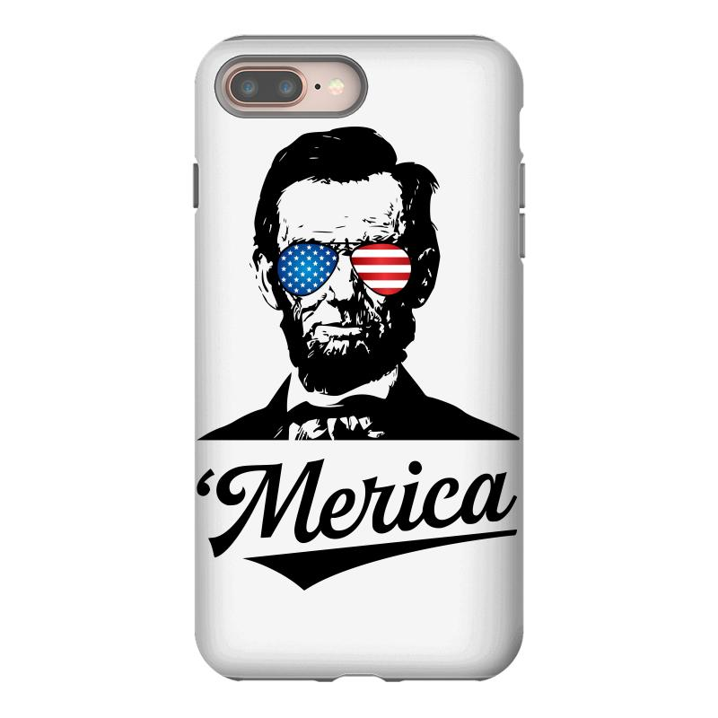 Abraham Lincoln July 4th Iphone 8 Plus Case | Artistshot