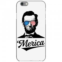 abraham lincoln july 4th iPhone 6/6s Case | Artistshot