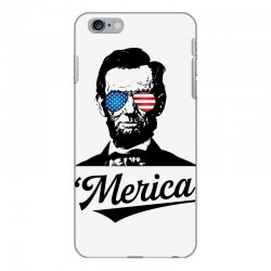abraham lincoln july 4th iPhone 6 Plus/6s Plus Case | Artistshot