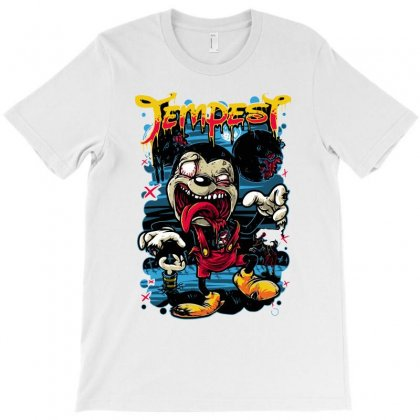 Zombie Mouse T-shirt Designed By Ronz Art