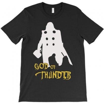 God Of Thunder T-shirt Designed By Aheupote