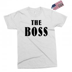 The Boss - The Real Boss Family Matching Exclusive T-shirt | Artistshot