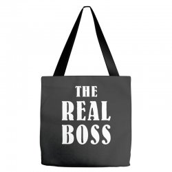 The Boss - The Real Boss Family Matching Tote Bags | Artistshot