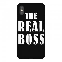 The Boss - The Real Boss Family Matching iPhoneX Case | Artistshot